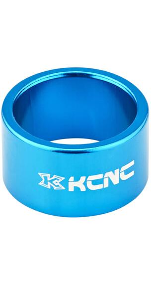 """KCNC Headset Spacer 1 1/8"""" 20mm niebieski"""
